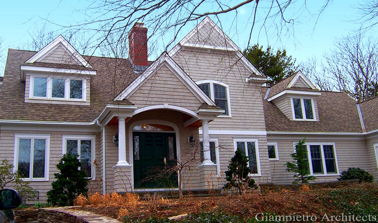 Cape Cod-Style Home
