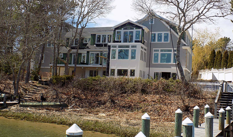 Large House with Boat Dock